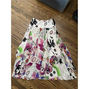 Chacok Printed Skirt Size 2 Medium